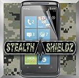 2-Pack Stealth Shieldz© HTC 7 TROPHY Screen Protector LIFETIME WARRANTY (U ....