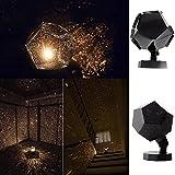 UNIHOM Lampe Projecteur Veilleuse Romantique Etoiles Planétarium Cosmos Nocturne Déco Cadeau Enfant
