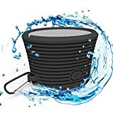 Waterproof Bluetooth Speaker - Portable and Rugged w/ Built-in Microphone