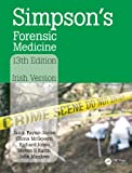 Simpsons Forensic Medicine, 13th Edition: Irish Version