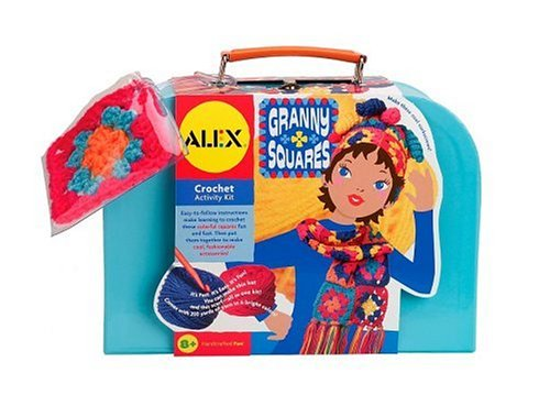 Buy Alex Granny Squares Crochet Kit in Carry Case