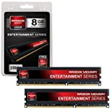 AMD Radeon Memory Entertainment Series DDR3-1600 4GB*2枚 AE38G1609U1K
