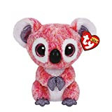 Ty Girls and Womens Beanie Boos Small Kacey The Koala Soft Toy in Pink