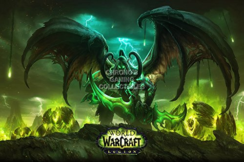 WoWarcraft Legion Huge Poster