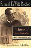 img - for The Substance of Things Hoped for: A Memoir of African-American Faith book / textbook / text book