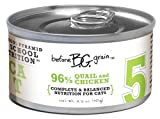 Merrick Before Grain #5 Quail Paté Style Cat Food, 3.2 Ounce Can (24 Count Case)