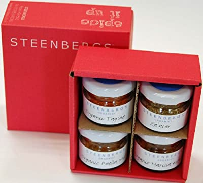 Steenbergs Spice Taster Box - 4 minis of popular blends