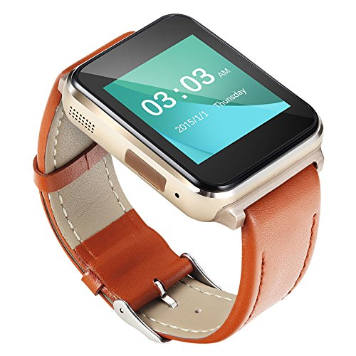 Generic Bluetooth Smartwatch A15 Brown Pack of 3