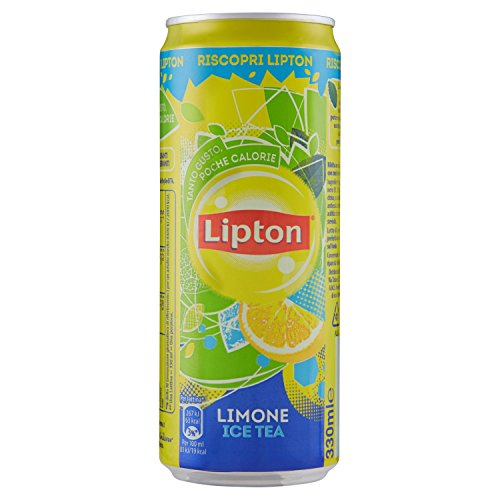 Ice Tea limone Lipton sleek lattina cl.33