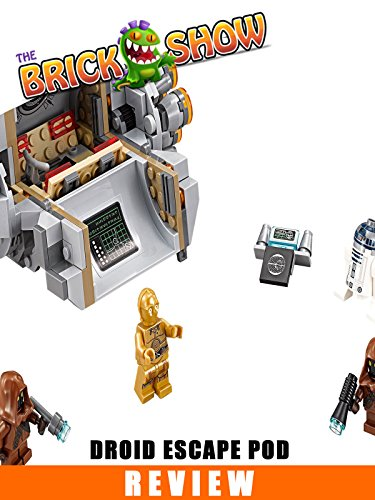 LEGO Star Wars Droid Escape Pod Review (75136)