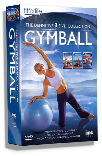 Gymball (Gym Ball) The Definitive Triple DVD Box Set - Containing Gymball Workout An Introduction to Gymball, Pilates Gymball & Gymball Roll off the Pounds Aerobic Workout. Fit for Life Series