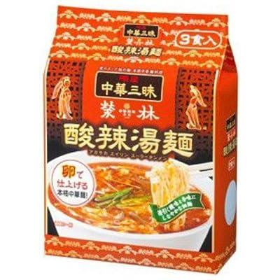 明星 中華三昧 赤坂榮林 酸辣湯麺 109g×3食入り