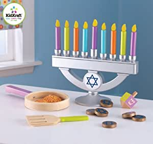 Kidkraft chanukah set toys games for Home decor 63042