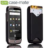 Case-Mate HTC / Google Nexus One ID Case with Screen Protector, Matte Black アイ・ディ ケース (液晶保護シート つき) マット・ブラック CM010864