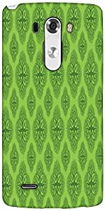 Snoogg Life Symptoms Green Trees Designer Protective Back Case Cover For LG G3