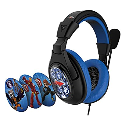 Turtle Beach Ear Force Disney Infinity: Marvel Super Heroes Stereo Gaming Headset for Xbox 360, Playstation 4, Nintendo Wii U, PC and Mobile Devices from Turtle Beach