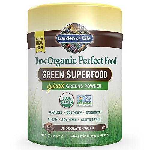 Garden of Life Raw Organic Perfect Food Chocolate 23.8oz (675g) Powder (Perfect Food Raw compare prices)