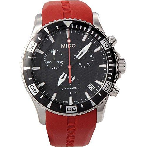 mido-ocean-star-m0114171705100-reloj-de-hombre-cuarzo-cronografo-fecha-caucho-rojo