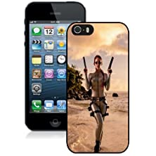 buy New Personalized Custom Designed For Iphone 5S Phone Case For Bianca Beauchamp Tomb Raider Lara Croft Phone Case Cover