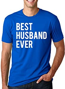 Best Husband Ever T Shirt Funny Wedding Married Man Tee Gift