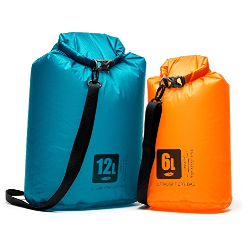 The Friendly Swede 2er-Set ultraleichte Outdoor Dry-Bags aus Cordura - wasserressistente Packsäcke