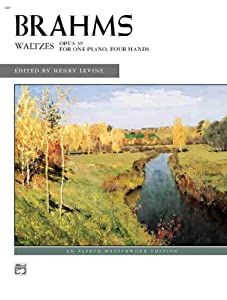 Brahms -- Waltzes Op 39 Alfred Masterwork Editions from Alfred Publishing Co., Inc.