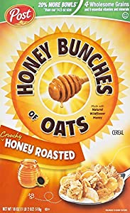 Honey Bunches of Oats, Crunchy Honey Roasted, 18 Oz