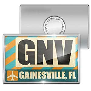 Amazon.com: Fridge Magnet Airportcode GNV Gainesville, FL