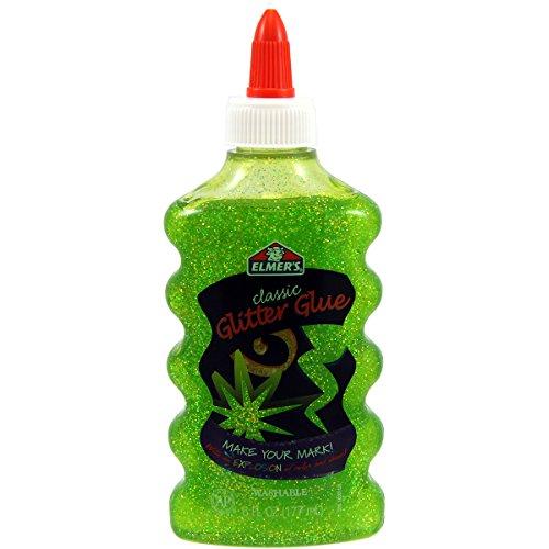 elmers-glitter-colla-6oz-verde-bottiglia