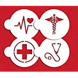 Medical Symbols Cookie Stencil Set C992 By Designer Stencils