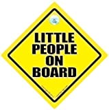 Little People On Board Little People On Board Car Sign Baby on Board Sign Novelty Car Sign Baby on Board Decal Bumper Sticker Baby Sign Baby Car Sign Road Sign Grandchild On Board