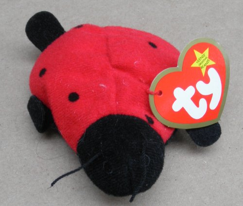 TY Teenie Beanie Babies Lucky the Ladybug Stuffed Animal Plush Toy - 1