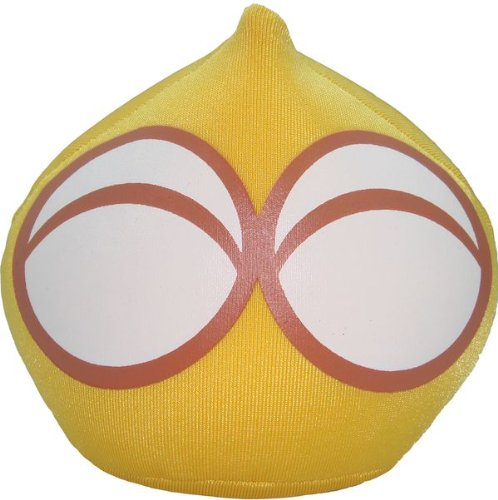 "Puyo Puyo Plush Doll: 3.5"" Yellow Puyo"