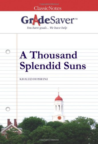 a thousand splendid suns essays gradesaver a thousand splendid suns khaled hosseini