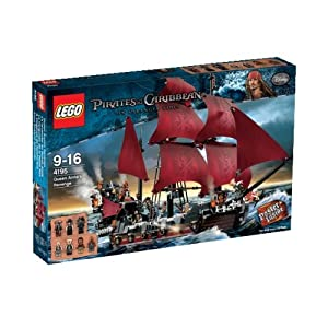 LEGO Pirates of the Caribbean 4195: Queen Anne's Revenge