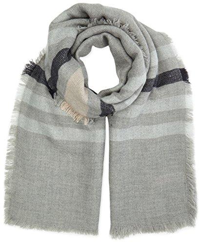 Selected Femme - Sfmilan S, Sciarpa da donna, grigio (gris (cream tan)), única