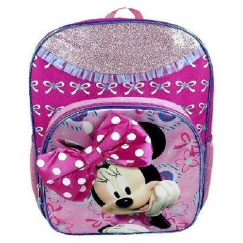 Disney Minnie Mouse Backpack- Pink - 1