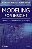 Modeling for Insight: A Master Class for Organization Analysts