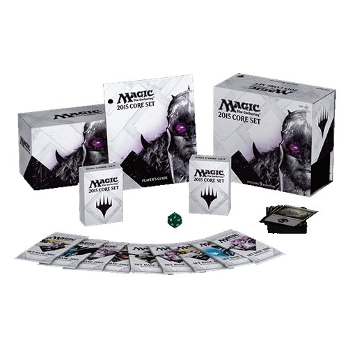 Magic: the Gathering - 2015 Core Set / M15 - Sealed Fat Pack (9 Booster Packs & More) (Magic Gathering Starter Deck compare prices)