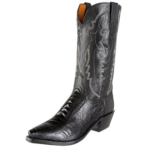 1883 by Lucchese Men's N1120.54 Western Boot,Black,6 EE US
