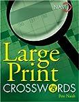 Large Print Crosswords #8
