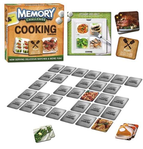 Memory Challenge Game: Cooking Edition