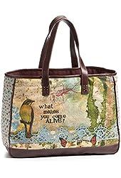 Kelly Rae Roberts Come Alive Structured Tote - Unique Bag Purse Handbag Accessories - 102267KRR