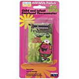 Hallcrest Little Miss Helpful Forehead Thermometer, 4 Count