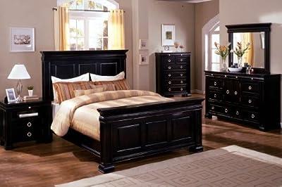 Perfect Inland Empire Furniture Bella Espresso and Tobacco OakSolid Wood Panel California King Bed ue ue