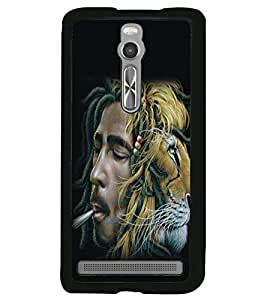 printtech Bob Marley Back Case Cover for Asus Zenfone 2 , Asus Znfone 2 ZE550ML