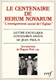 echange, troc Eglise catholique, Jean-Paul II - Le centenaire de Rerum novarum