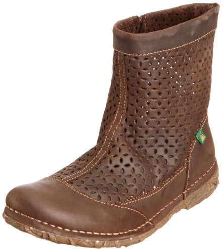 El Naturalista Women's Angkor Chocolate Ankle Boots N979 4 UK