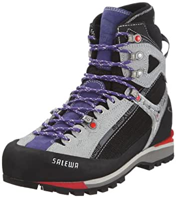 SALEWA WS RAVEN COMBI GTX (N), Damen Trekking- & Wanderstiefel, Violett (0902 Black/Lilac), 35 EU (3 Damen UK)