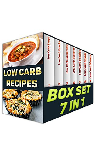 Low Carb BOX SET 7 IN 1: 165 Amazing Low Carb Recipes You Will Love!: (low carbohydrate, high protein, low carbohydrate foods, low carb, low carb cookbook, ... Ketogenic Diet to Overcome Belly Fat) by Micheal Collins